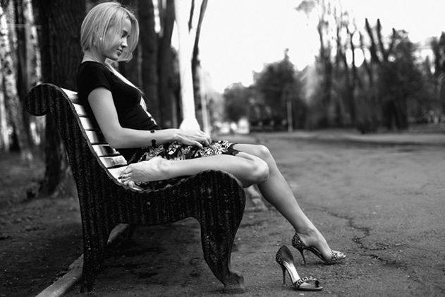 фото одинокие женщины