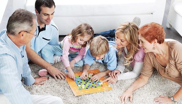 картинки для детей родители и дети