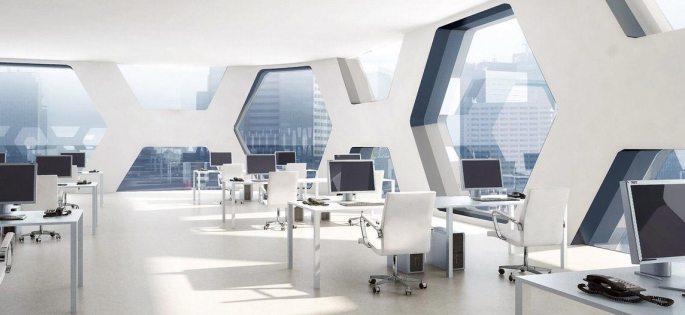 Создание уникального офисного интерьера