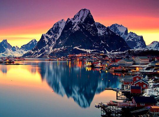 Волшебный отдых в Северной Норвегии