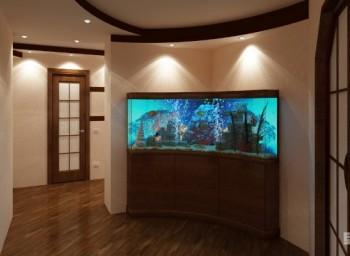 Украшение интерьера и хобби - аквариум