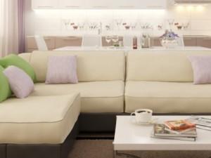 Уютная цветовая палитра для гостиной комнаты