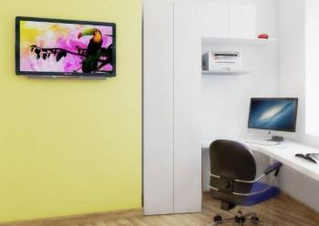 Как обустроить рабочее место в углу помещения