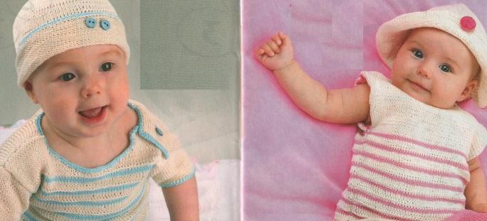 Вязаная одежда для малышей своими руками